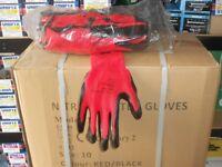 garden gloves builders nitrile coated gloves scaffold bricky work gloves