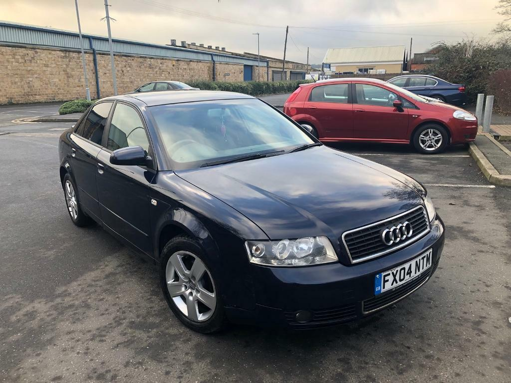 2004 audi a4 1 9 tdi se manual 4 door saloon blue 12 months mot not s line sport in dewsbury. Black Bedroom Furniture Sets. Home Design Ideas