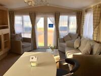 BRAND NEW CARAVAN FOR SALE WITH SEA VIEW PITCH. STUNNING SEA VIEWS OVER NORTHUMBERLAND COAST.