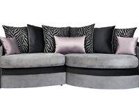 Black sofa like picture or corner