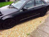 Mercedes C220 2.2 CDi BLUEEFFICIENCY Sport 2010 ( CAT C Repaired )