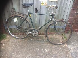 Mans Vintage Triumph Traditional Town Bike 3sp ( Spares or repairs