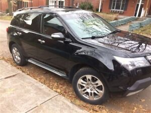 2009 Acura MDX Tech 5sp at Comes with Tech package, DVD system i