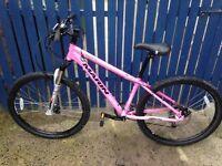 Marin - ladies pink mountain bike