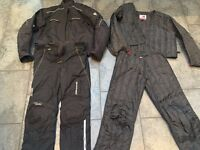 MOTORBIKE CLOTHING - HEIN GERICKE GORTEX SUIT SIZE LARGE - GOOD CONDITION