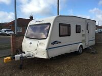 Bailey ranger 500/5 5 berth with awning