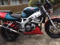 Honda CBR900RR X Fireblade streetfighter. 919