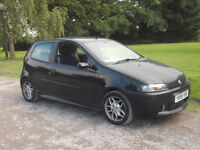 2001 FIAT PUNTO 16V HGT ABARTH 1.7, MOT JULY 2017, ONLY 65,000 MILES, SPARES/REPAIRS
