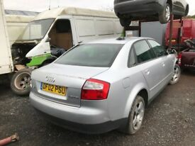 Audi A4 1.9 tdi spare parts engine turbo injector gearbox alternator