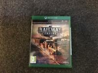 Railway empire brand new used once Xbox One.