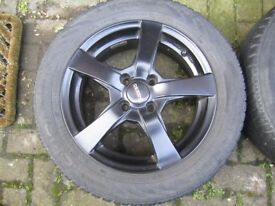 Mini One 15 inch alloys and snow tyres