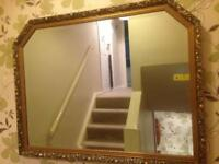 Mirror - Large Gilt