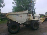 Terex 9 Ton forward tipping Dumper