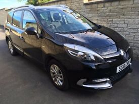 2016 RENAULT GRAND SCENIC Limited 1.5dci. Only 13k miles. Top spec! 7 seats. CHEAP!!
