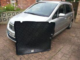 ZAFIRA B mk2 2005-2011 Boot tray liner car mat Heavy Duty Protector Floor Cover