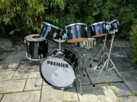 Vintage Premier Drum kit 1980