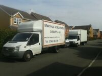 REMOVALS move house flat office hire man and van furniture moving storage delivery Cardiff