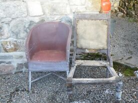 2 CHAIRS FOR RENOVATION