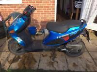 Italjet formula 50 moped 50cc