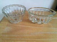 2 Vintage Jelly Moulds