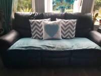 2 x 3 seater recliner suite