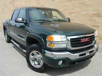 2005 GMC SIERRA 2500HD 4X4. Crew Cab. Loaded!