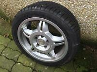 BMW M SPORT 17's with 4 EXCELLENT TYRES
