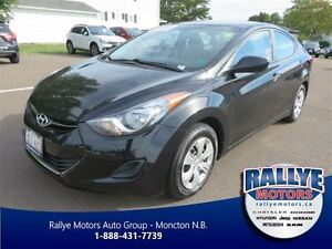 2013 Hyundai Elantra L! Traction! USB! Trade-In! Save!