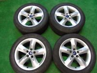 "FORD FOCUS, TRANSIT CONNECT, GALAXY, C-MAX, S-MAX, MONDEO 16"" inch ALLOY WHEELS"