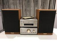 Denon PMA 6.5 Amplifier, Denon DCD 6.5 CD player with Denon SC-E313SE Speakers