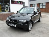 2006 BMW X3 SE 2.0 TURBO DIESEL ONE OWNER FSH SUPERB CONDITION