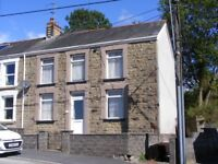 Semi detached stone built three bedroom house for rent