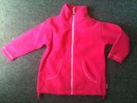Girls 2 Years Pink Fleece Jacket