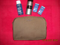 Gucci bag with skin care products for men