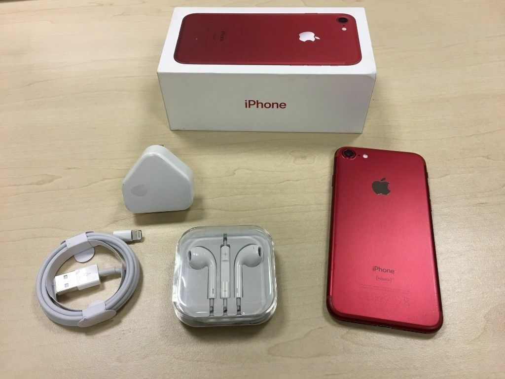 Red Iphone 7 128gb Tipos De Cancer Apple 128 Gb Edition Factory Unlocked Mobile Phone Warranty