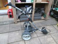 MOTOCADDY S1 ELECTRIC GOLF TROLLEY,NEW 22AH BATTERY,&CHARGER.