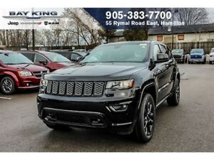 2018 Jeep Grand Cherokee LAREDO ALTITUDE 4X4, SUNROOF, GPS NAV,