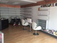 Ready To Trade Hair & Beauty Salon To Let - Approx 400 sq ft - Worthing, near BR Station