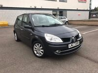 2008 RENAULT SCENIC-1.5 DIESEL-ONLY 70K GENUINE MILEAGE-YEAR MOT-UP TO 60 MPG-FULL SERVICE-SPOT ON