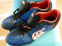 Blue Canterbury Rugby Boots