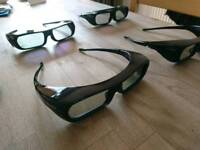 Sony 3D Glasses 4 pairs