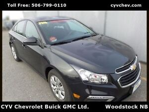 2016 Chevrolet Cruze LT - $9/Day - 7 Touch Screen & Rear Camera