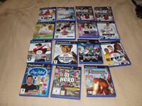 CAR BOOT JOBLOT OF 15 X PLAYSTATION 2 GAMES ALL MINT IN THEIR BOXES