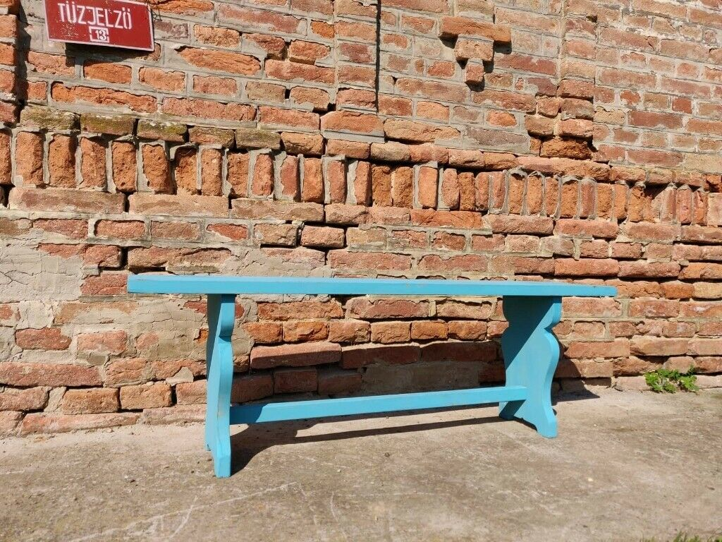 Pleasant Old Wooden Vintage School Garden Bench Rustic Decor Chairs Stool Picnic In Finsbury Park London Gumtree Gmtry Best Dining Table And Chair Ideas Images Gmtryco