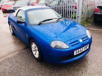 MG TF 1.6 PETROL MANUAL ROADSTER BLUE WITH HARD TOP 2003 CONVERTIBLE