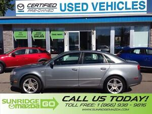 2006 Audi A4 LOW KOLMETERS, PRICED TO SELL, SUNROOF, LEATHER IN