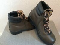 Child's Leather Walking Boots Size 2 Eur 34