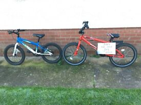 2 CHILDS BIKES ...... 1 Red and 1 Blue