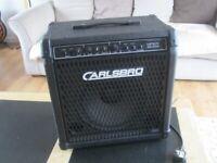 Vintage Carlsbro Viper 30 Watt Bass Amp, Made In England.