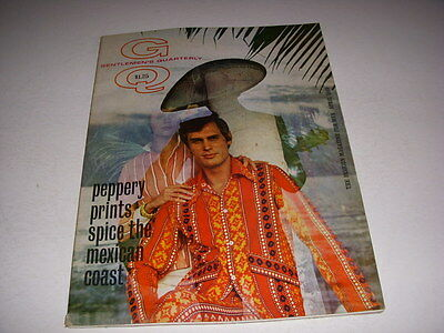 GENTLEMEN'S QUARTERLY GQ Magazine, April, 1969, MEXICO, MEXICAN FASHIONS!